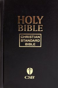 CSB Pew Bible Black (Black Letter Edition)