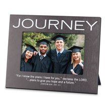 Mdf Frame: Journey, Gray (Jeremiah 29:11)