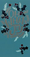 Christmas - Money & Gift Card, Oh What Joy, Blue/White/Red