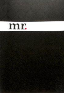 Notebook Journal: Mr. (Black/white)