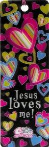 3d Bookmark: Jesus Loves Me