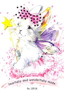 Notepad: Fearfully and Wonderfully Made (Fairy Kitten)