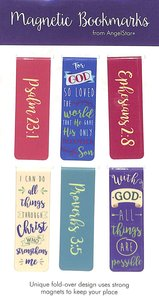 Magnetic Bookmark Set of 6: With God All Things Are Possible.....