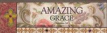 Plaque Simple Harmony: Amazing Grace (Eph 2:8)