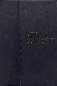Believers Hymn Book - Music Edition (Navy Music Book)
