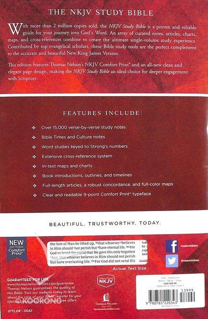 NKJV Study Bible (Black Letter Edition)