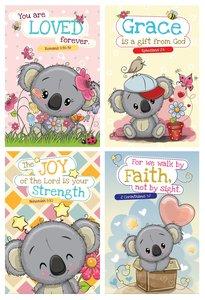 Notepad Set of 4: Koala Bear Series