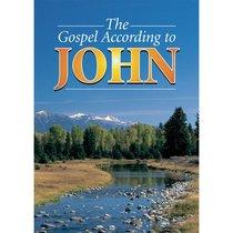 KJV Medium Print Johns Gospel