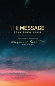 Message Devotional Bible (Black Letter Edition)