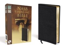 NASB Thinline Text Edition Black (Red Letter Edition)