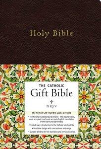 NRSV Catholic Gift Bible Black Anglicized