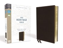 NIV Heritage Bible Deluxe Brown (Black Letter Edition)