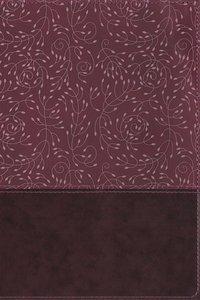NRSV Thinline Reference Bible Large Print Burgundy