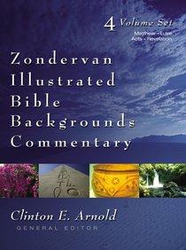 Matthew-Luke; Acts-Revelation (2 Volume Set) (Zondervan Illustrated Bible Backgrounds Commentary Series)