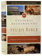 NRSV Cultural Backgrounds Study Bible