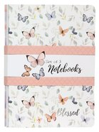 Notebook Set of 3: Blessed, Butterflies