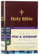 NRSV Pew and Worship Bible Burgundy
