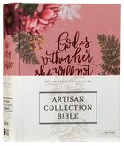 NIV Artisan Collection Bible Pink Floral (Red Letter Edition)