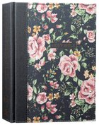 NKJV Journal the Word Bible Blue Floral (Red Letter Edition)