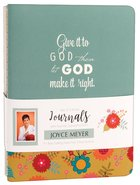 Joyce Meyer Journal 3 Pack: Give It to God, Green/White/Yellow Floral
