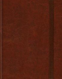 ESV Single Column Journaling Bible Cordovan (Black Letter Edition)
