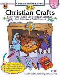 Easy Christian Crafts Reproducible (Grades Pk-k)