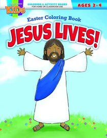 Jesus Lives! Easter Coloring Book (Warner Press Colouring & Activity Books Series)