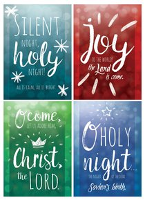 Christmas Boxed Cards: Let Us Adore Him (Kjv)