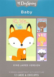 Boxed Cards Baby: Big Characters