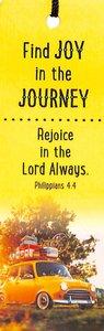 Tassel Bookmark: Find Joy in the Journey - Phil 4:4