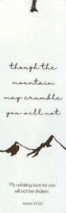 Tassel Bookmark: Mountain May Crumble - Isaiah 54:10