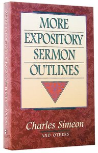 More Expository Sermon Outlines