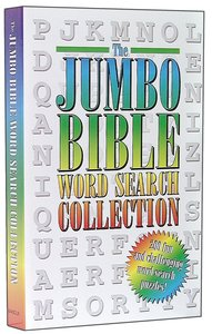Jumbo Bible Word Search Collection