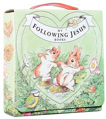 Following Jesus:4 Books With Carry Case